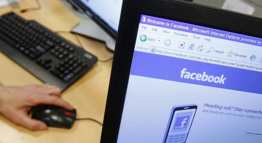 Facebook-venneanmodning sender din pc ned i sort hul