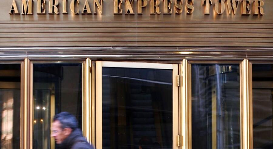 American Express-aktien faldt 3,3 pct. i eftermarkedet efter et fald på 0,6 pct. i den ordinære børstid.