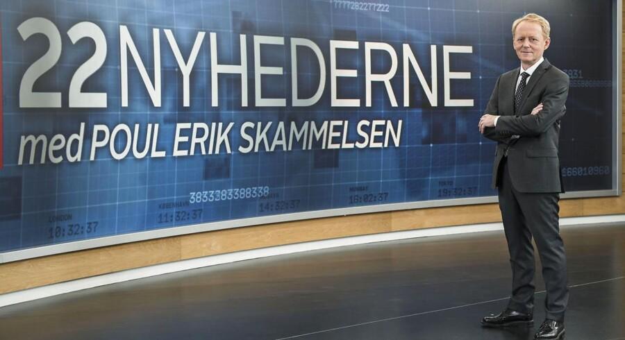 En større del af TV 2s aktiviteter skal foregå i Odense - som her 22 Nyhederne - og ikke i København, lyder kravet fra Dansk Folkeparti.