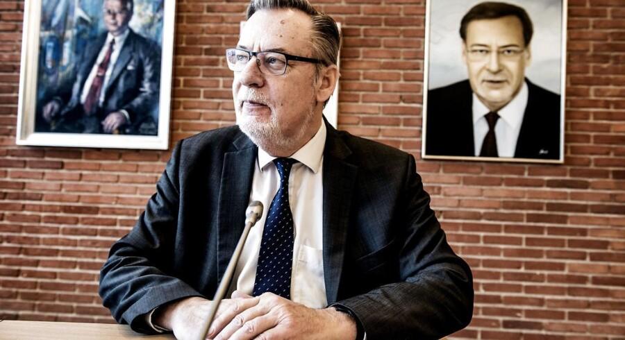 Ishøj-borgmester Ole Bjørstorp (S) tager gerne betegnelsen »bykonge« på sig: »Men det er jo ikke et enevældigt styre, sådan foregår det ikke.«