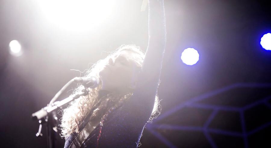 Koncertformatet HUN SOLO sætter fokus på talentfulde kvindelige musikere på Hotel Cecil. (Foto: Sarah Christine Nørgaard/Scanpix 2017)