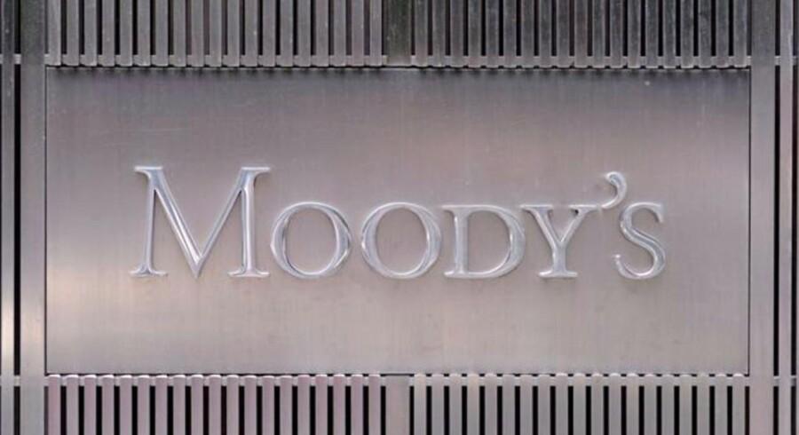 Arkivfoto. Moody's køber hollandsk bureau for 22 mia. kr.