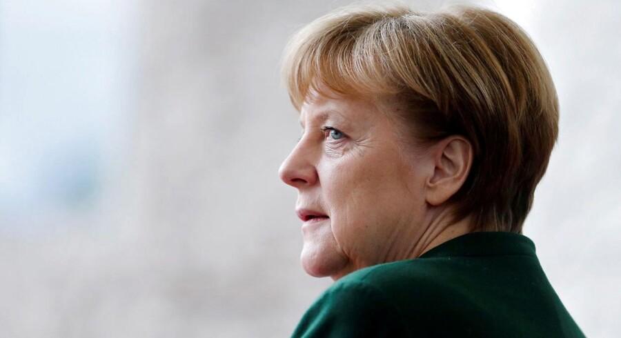 Merkels CDU vandt en sikker sejr ved delstatsvalg i Tyskland, selv om SPD i mange år har været dominerende. REUTERS/Hannibal Hanschke/File Photo