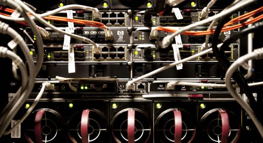 Tele- og internetselskaberne i Danmark indsamler fortsat millioner af oplysninger hver dag om danskernes brug af telefoni og Internet - men ifølge en EU-dom lige før jul er masseindsamling ulovlig. Arkivfoto: Dennis Lehmann, Scanpix