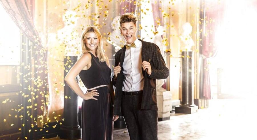 Carla Mickelborg og Rasmus Kolbe er årets værter til Guldtuben.