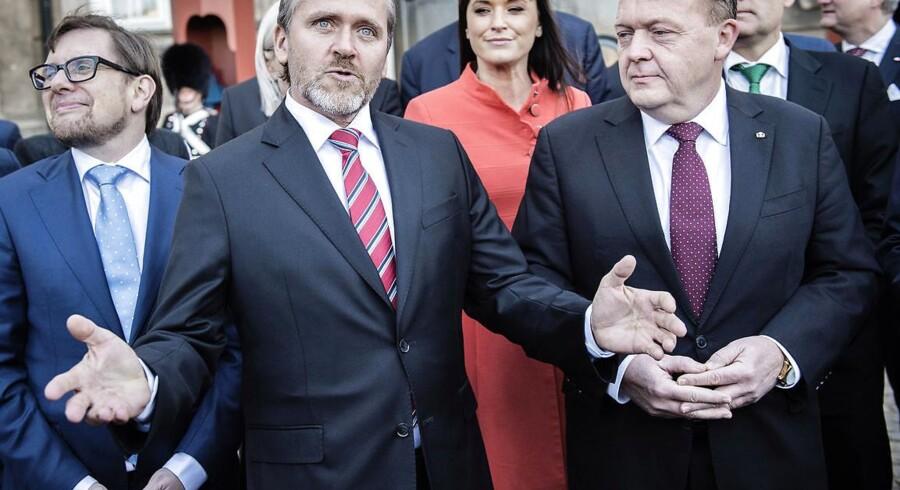 Udenrigsminister Anders Samuelsen erkender, at han ikke har en plan for, hvad Danmark skal gøre, såfremt flygtningeaftalen med Tyrkiet falder til jorden. Foto: Thomas Lekfeldt