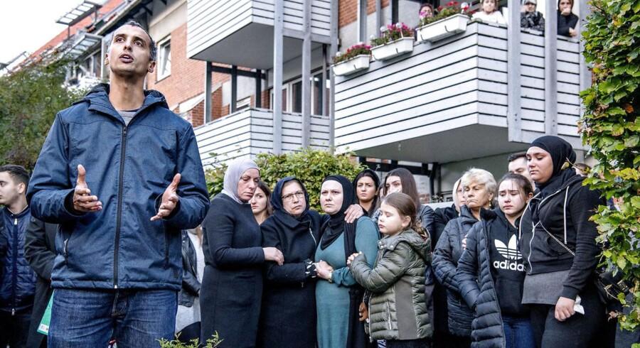 Søndag d. 22. oktober 2017 blev der afholdt mindehøjtidelighed for den 16-årige Servet Abdija, der blev dræbt af skud mandag aften ud for sin bopæl i Ragnhildgade i København. Folketingspolitiker Mattias Tesfaye holdte tale, hvor han opfordrede danskerne til at stå sammen istedet for at pege på dem og os.