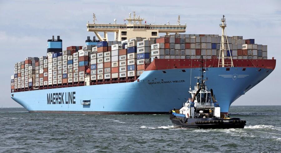 Cyberangrebet i sommer ramte både Maersk Line og APM Terminals hårdt. Arkivfoto: Michael Kooren/Reuters