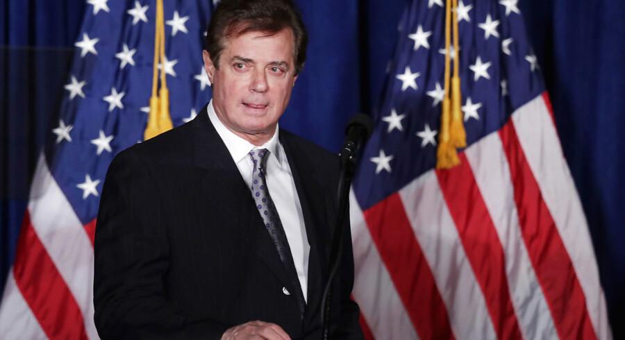 Donald Trumps tidligere kampagnechef Paul Manafort står centralt i efterforskningen af mulige ulovlige kontakter med Rusland under den amerikanske valgkamp. Han rådgav blandt andre Ukraines ekspræsident Viktor Janukovitj og den russiske oligark Oleg Deripaska. Han nægter sig skyldig i lovovertrædelser.