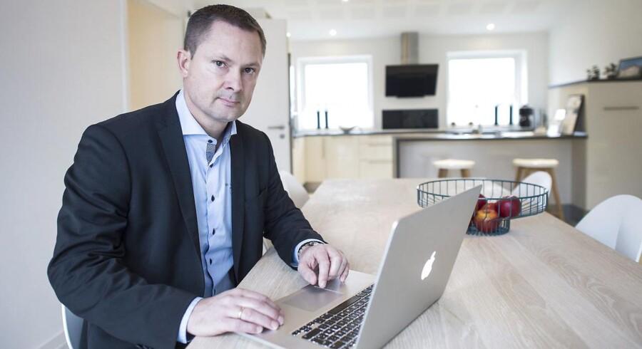 Huscompagniet - Direktør for den tyske afdeling - Søren Haugaard - her i et udstillingshus i Harrislee.