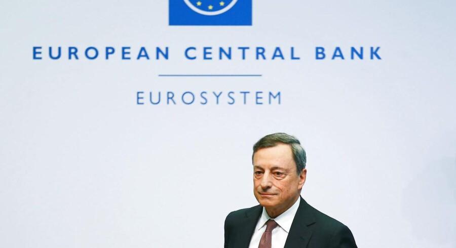 Den Europæiske Centralbanks Mario Draghi