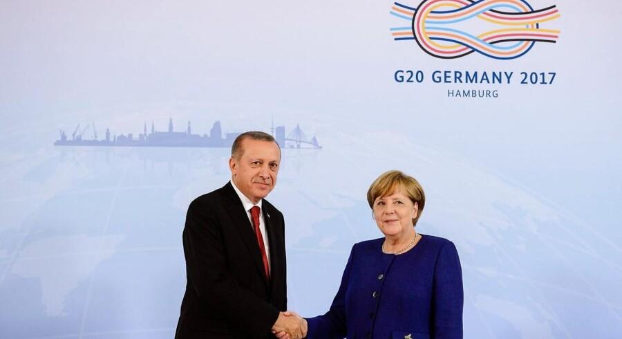 Investorerne undgår enhver form for risikable aktiver så som aktier op til G20-topmødet i Hamborg i weekenden.
