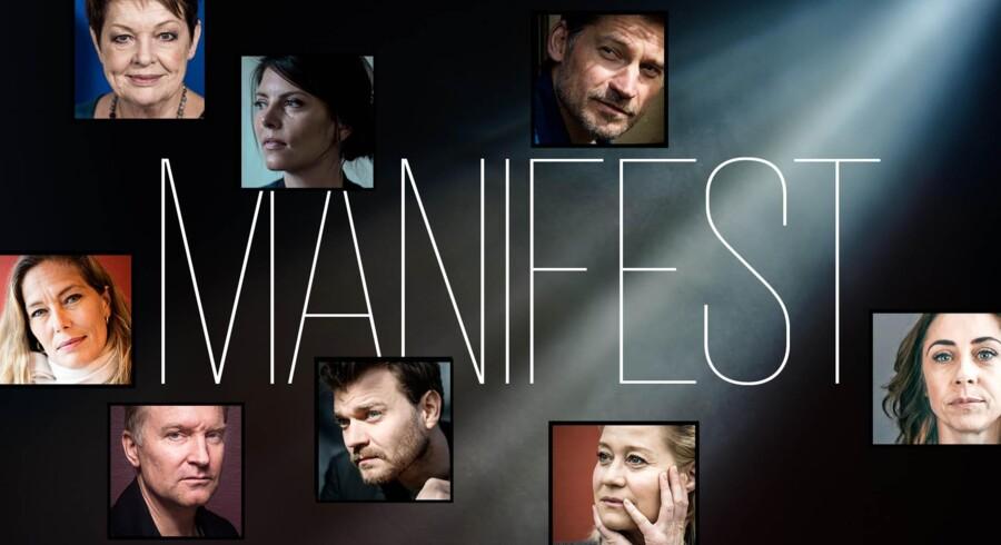 En lang række kendte og mindre kendte skuespillere og ansatte i film- og scenekunstbranchen har nu udfærdiget og skrevet under på en dansk version af Hollywoods #MeToo-manifest.