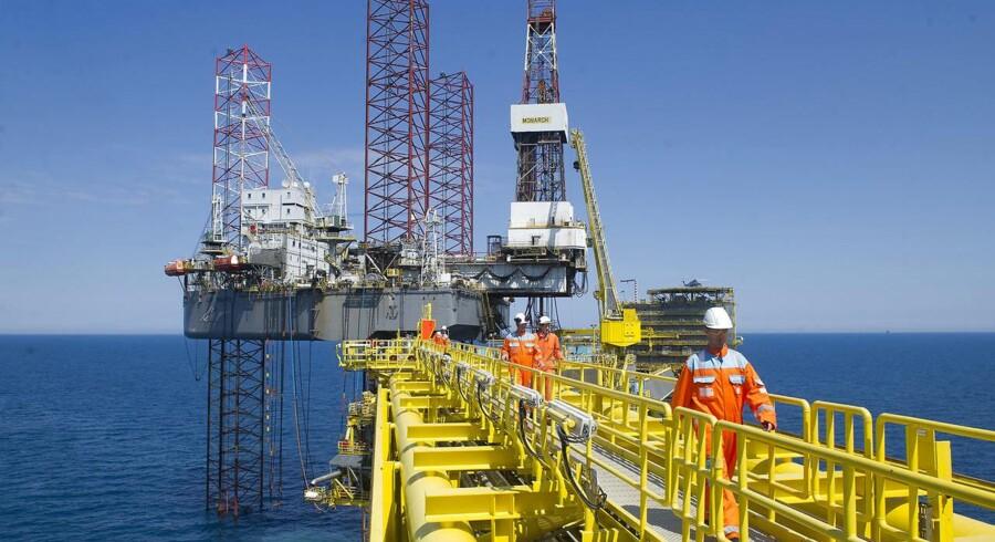 Et af de selskaber, der kan blive trykket af, at oliepriserne fortsat kører nedad, er A.P. Møller-Mærsk.