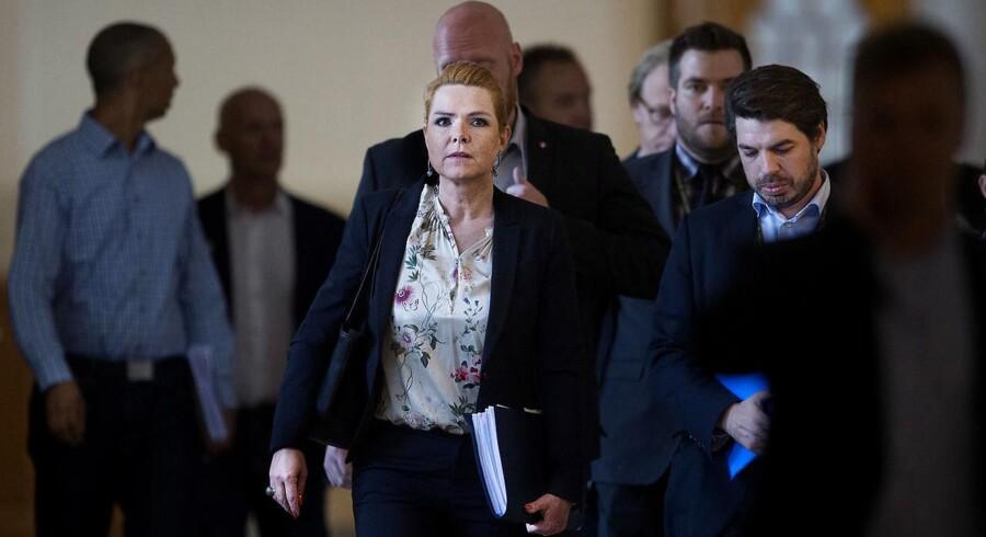 Udlændinge- og integrationsminister Inger Støjberg (V) var torsdag indkaldt til samråd, der endte med at vare fem timer.