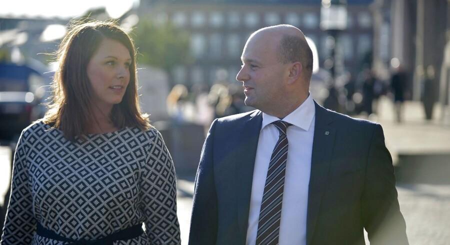 Arkivfoto: Mette Abildgaard og Søren Pape Poulsen.