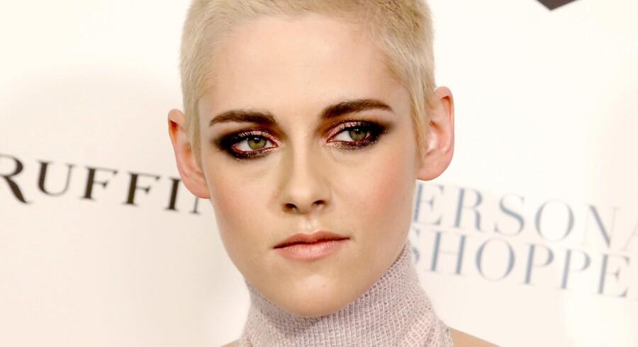 Skuespillerinden Kristen Stewart er i øjeblikket aktuel med filmen Personal Shopper. Det er endnu ikke offentliggjort, hvornår filmen får dansk premiere. Reuters/Mike Segar