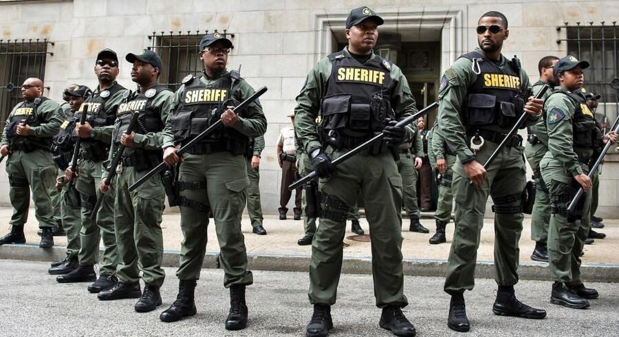 Arkivfoto. Baltimore har med 620.000 indbyggere flere drab end New York, som har 8,4 millioner indbyggere.