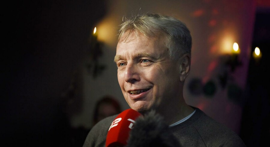 Uffe Elbæk. (Foto: Sofie Mathiassen/Scanpix 2017)