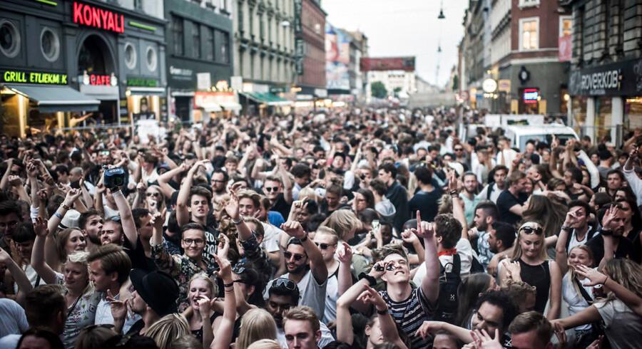 Onsdag d. 1. juni 2016 ramte Distortion Nørrebro i København.