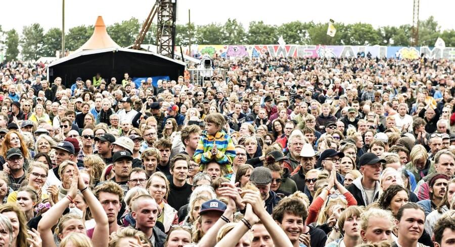Tæt sammenstimling på Roskilde Festival til Savage Rose - helt som data-modellen havde forudset.
