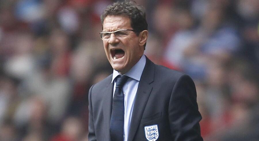 Fabio Capello har fået ry for at være en defentsivt indstillet træner. Arkivfoto: Ian Kingston/AFP