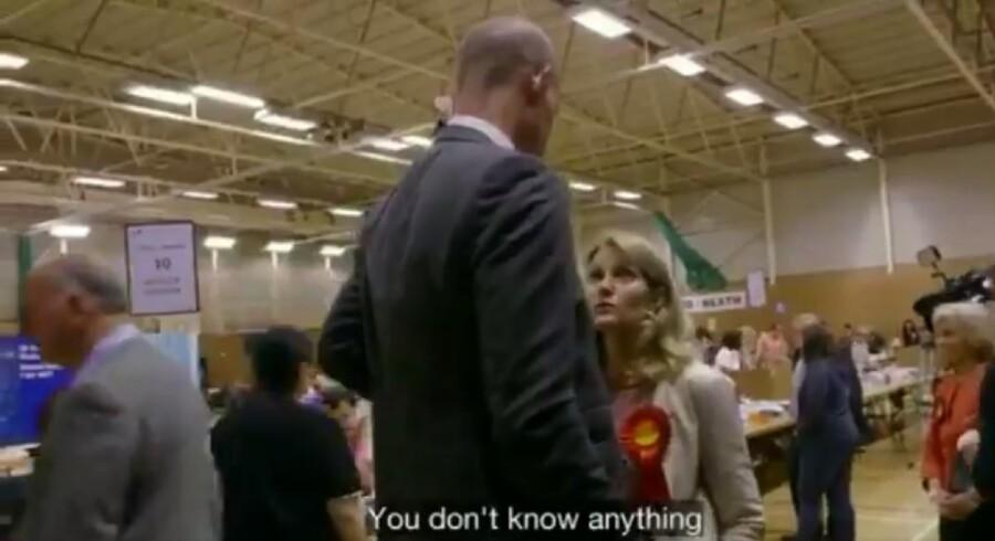 Her er et klip fra BBC-udsendelsen tirsdag aften, hvor Helle Thorning-Schmidt giver sin mand et råd, som måske redder hans politiske karriere.