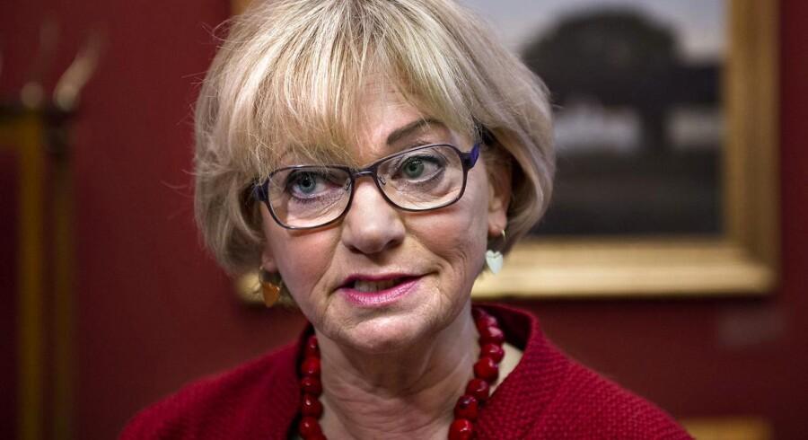 Folketingets formand og medlem af Dansk Folkeparti, Pia Kjærsgaard, forstår ikke harmen over hendes udtalelser i forbindelse med Helle Thorning-Schmidts nye job som administrerende direktør for Red Barnet International.
