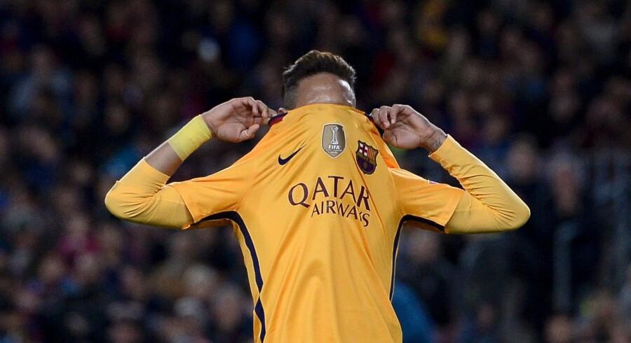 Nike har betalt en formue for at lave spilledragter til FC Barcelona. Scanpix/Josep Lago