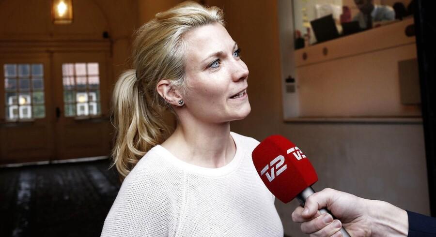 Lotte Rod udtalte sig slet ikke på de Radikales vegne, da hun onsdag udtalte sig om et muligt burkaforbud, slog medlem af R-ledelsen, Sofie Carsten Nielsen fast. (Foto: BERLINGSKE/Niels Ahlmann Olesenn/Scanpix 2013)