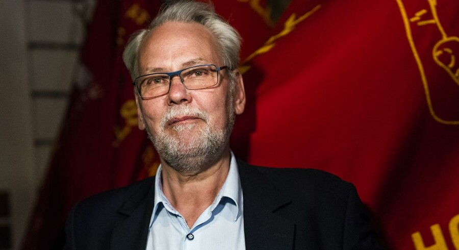 Dennis Kristensen har under OK18 regelmæsssigt kommenteret forhandlingerne på de sociale medier. Foto: Martin Sylvest/Scanpix Ritzau