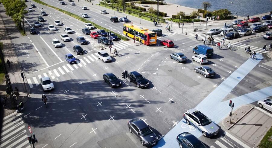 Er flertal af partierne i Københavns Kommune vil have lov af regeringen til at indføre roadpricing for at benytte hele eller dele af hovedstadens vejnet. Det skal mindske byens trængsel.
