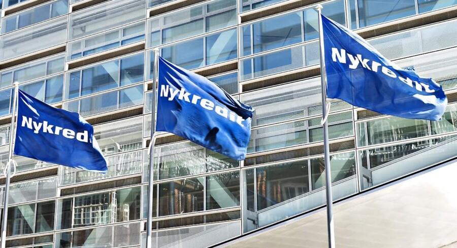 Nykredit, hvis hovedsæde på Kalvebod Brygge i København ses her, har onsdag morgen offentliggjort regnskabstallene for årets første tre måneder.