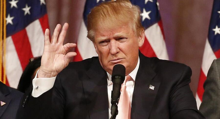 En ny analyse vurderer, at Donald Trump er en lige så stor trussel mod den globale økonomi som terrorisme og jihad.