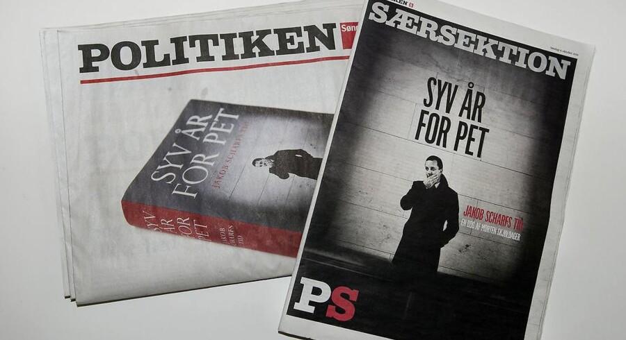 Dagbladet Politiken valgte søndag den 9.10.2016 at trykke bogen »Syv År for PET« trods fogedforbud.