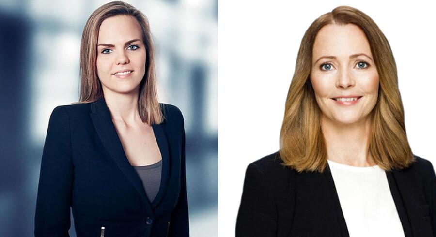 Caroline Stage Olsen (V) og Louise Feilberg (V) er begge kommunalpolitikere og har sundhed som mærkesag.