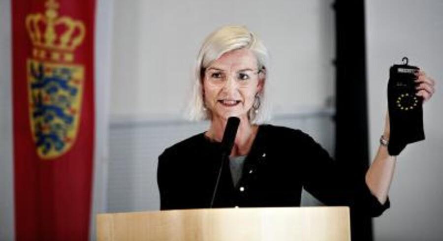 Ulla Tørnæs vil samle international opbakning til at modvirke Donald Trumps angreb på abort, prævention og familieplanlægning i verdens fattige lande. Foto: Polfoto/Ehrbahn Jacob