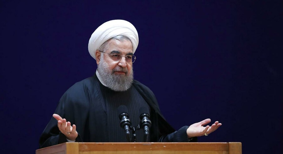 Irans præsident Hassan Rouhani.