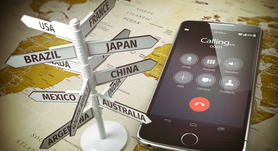 Det er kun i EU-landene, at de forhadte roamingpriser sidste år blev afskaffet, så pas stadig på i sommerferien. Arkivfoto: Iris/Scanpix