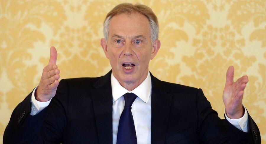 Storbritanniens tidligere premierminister Tony Blair ønsker at landet holder døren åben for en ny folkeafstemning om britisk medlemskab af EU.