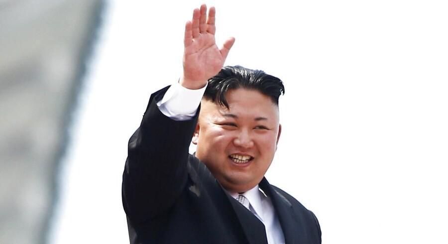 En højtstående delegation fra Sydkorea er inviteret til Nordkorea af Kim Jong Un. REUTERS/Damir Sagolj/File Photo