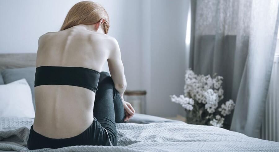 Det er vigtigt at være opmærksom på tegnene, for forældrene er ofte blandt de sidste til at opdage barnets spiseforstyrrelse.