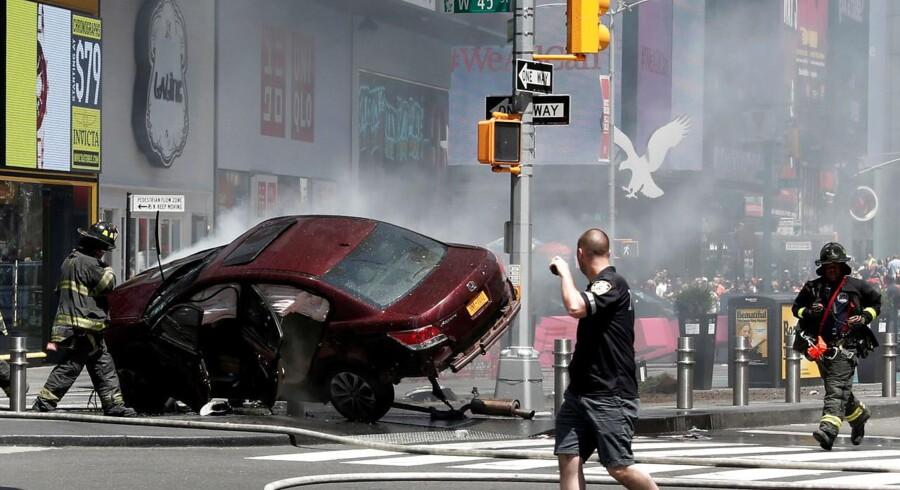 Den formodede dødsbilist fra Times Square har forklaret, at det var Gud, der bad ham om at gøre det.