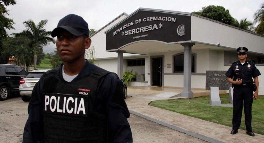 Politiet i Panama City har beslaglagt fire tons kokain.
