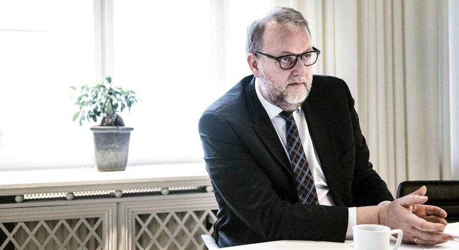 Arkivfoto: Regeringen vil til efteråret fremlægge en plan, der vil investere i udbygning af vedvarende energi i årene 2020 til 2030. Det varsler energi- og klimaminister Lars Christian Lilleholt (V).