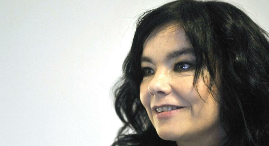 Arkivfoto: Sangerinden Björk anklager en dansk filminstruktør for sexchikane AFP PHOTO / DOMINIQUE FAGET