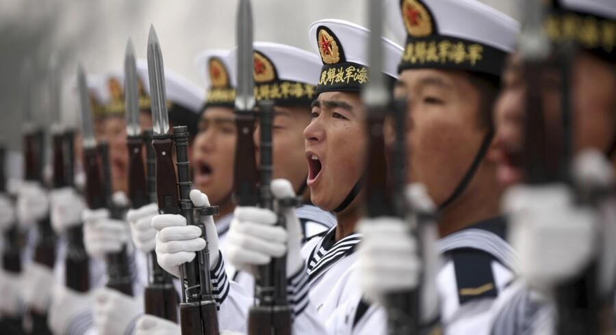 Kina opruster voldsomt i Det Sydkinesiske Hav, hvor det kinesiske territoriale krav udgør hele?80 procent af det samlede havområde.