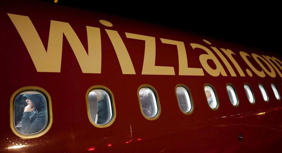 Wizz Air har på kort tid åbnet 7 ruter fra Billund Lufthavn. Arkivfoto.