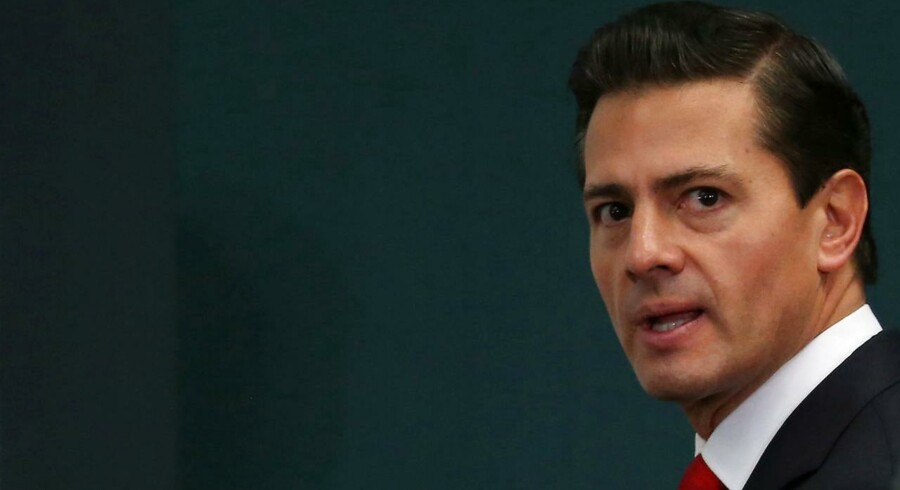Mexico's præsident Enrique Pena Nieto. REUTERS/Edgard Garrido