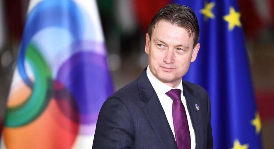 Zijlstra indrømmede mandag, at han i 2016 løj, da han sagde, at han var til stede, da Vladimir Putin præsenterede sin storslåede strategi for Rusland.